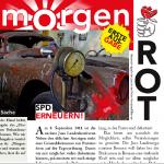Ausschnitt der ersten Ausgabe des MorgenRot